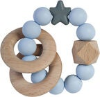 Nibbling Natural Wood Helistin/Purulelu, Soft Blue