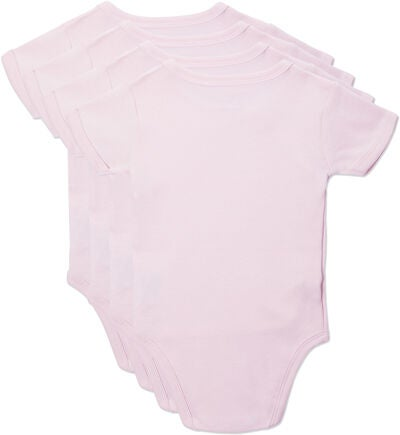 Tiny Treasure Kendall Bodyt 4-Pack, Pink