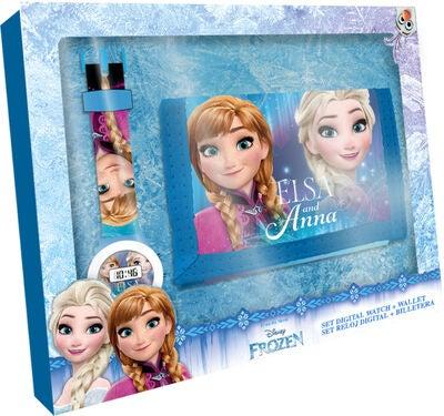 Osta Disney Frozen Digitaalinen Rannekello + Lompakko  86209b162d