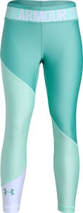 Under Armour HG Color Block Ankle Crop Leggingsit, Neo Turquoise