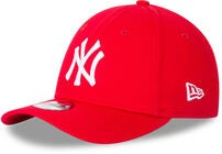 New Era League Essential 9FORTY KIDS KIDS NEY Lippalakki, Front Door Red/ White