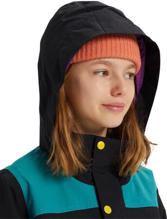 Burton Girls Elstar Parkatakki, True Black Multi
