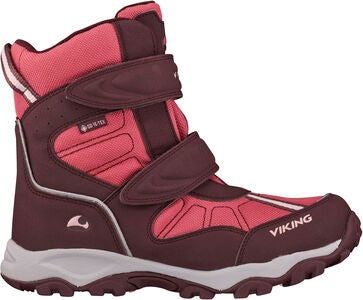 Viking Bluster II GTX Talvikengät, Wine/Red