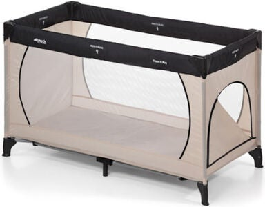 Hauck Dream'n Play Plus Matkasänky, Beige/Grey