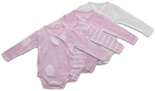 Tiny Treasure Alexie Body 4-Pack, Chalk Pink