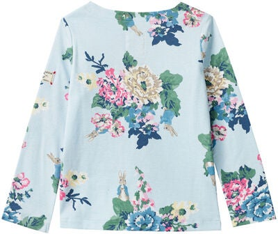 Tom Joule Harbour Print Harbour Paita, Light Blue Rabbit Floral