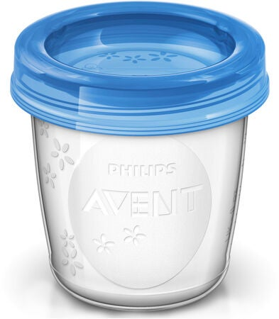 Philips Avent Maidonsäilytysmukit 180 ml 10-pack + Adapterit