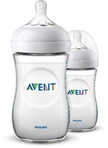 Philips Avent Natural Tuttipullo 260ml sis. Slow Flow Pullotutti 2-pack