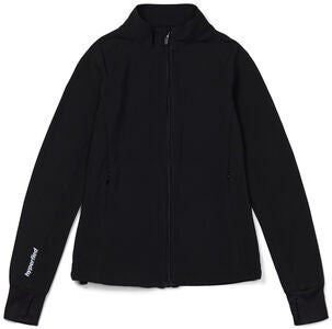 Hyperfied Zipped Running Jacket, Anthracite