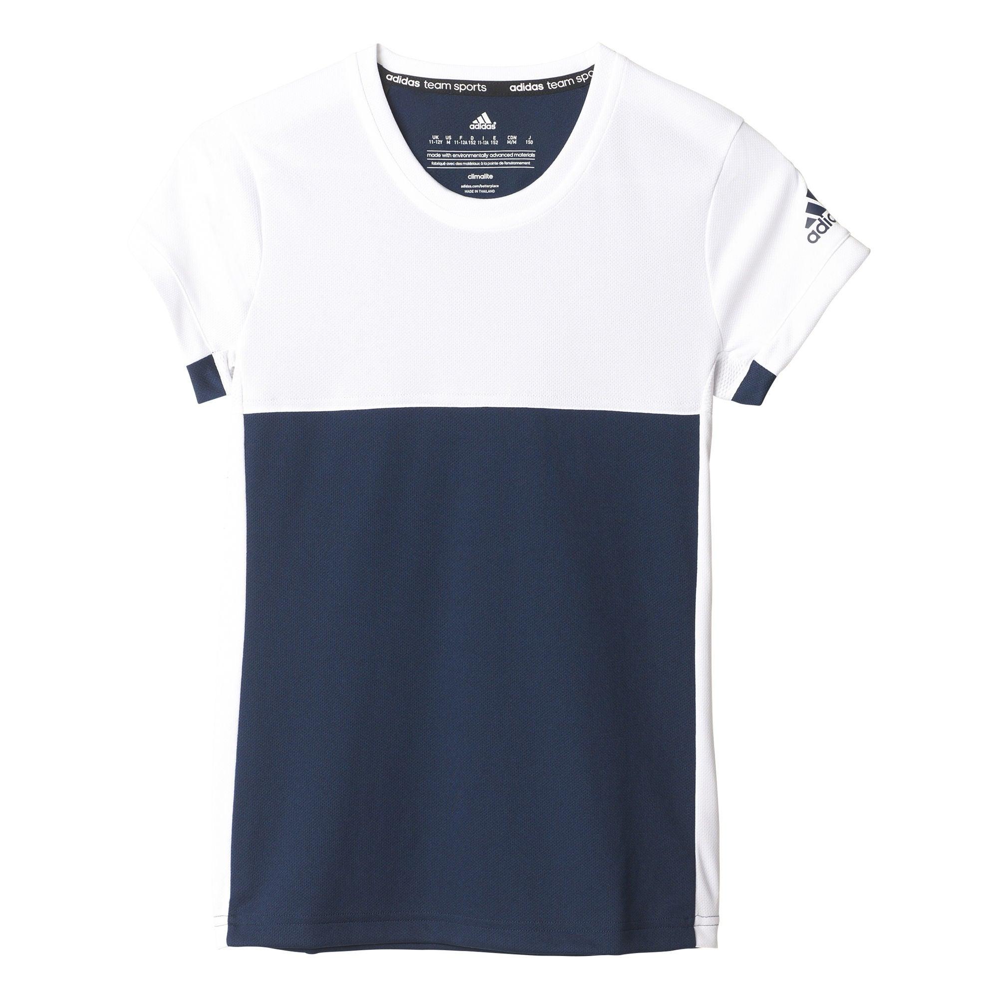 Osta Adidas T16 Tee YG Treenipaita, Navy   Jollyroom