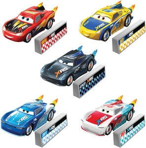 Disney Autot XRS Rocket Racing Die-Cast Leluauto 1:55