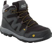 Jack Wolfskin MTN Attack Texapore Mid Kengät, Burly Yellow XT 39