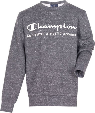 Champion Kids Crewneck Paita, New Charcoal Grey Melange Dark