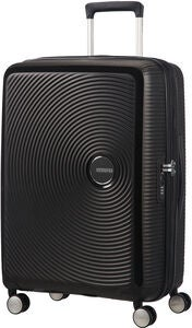 American Tourister Soundbox Spinner Matkalaukku 71.5L, Bass Black