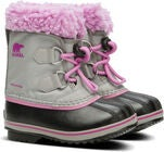 Sorel Youth Pac Nylon Talvisaappaat, Chrome Grey/Orchid