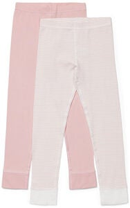 Luca & Lola Omero Kalsarit 2-pack, Pink/Stripes