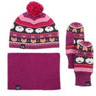Kombi The Fox Fair Isle Talvisetti, Magenta Mix