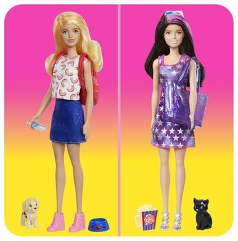 Barbie Color Reveal Park To Movies Nukke