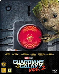Marvel Guardians Of The Galaxy 2 Blu-Ray Steelbook