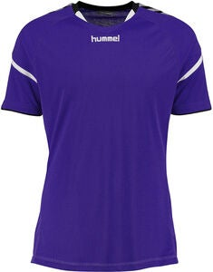 Hummel Auth. Charge SS Poly Treenipaita, Violetti