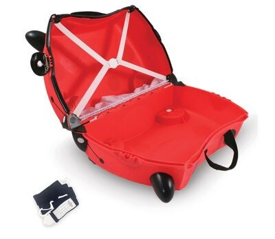 Trunki Harley The Ladybird Matkalaukku 18L, Red