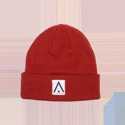 Wearcolour Y Beanie Pipo, Falu Red