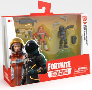 Fortnite Battle Royale W2 Figuurit Missn Specialist & Drk Voyager Duo Pack S1