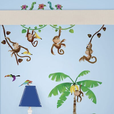 RoomMates Wallstickers, Monkey Business