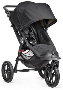 Baby Jogger City Elite Lastenrattaat, Black