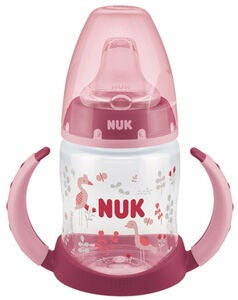 NUK 150 ml First Choice Nokkamuki, Pinkki