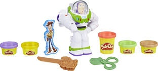 Play-Doh Muovailuvaha + Disney Figuuri Buzz Lightyear