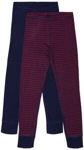 Luca & Lola Toto Kalsarit 2-pack, Navy/Stripes