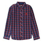 U.S. Polo Assn. USA Check Paita, Deep Red