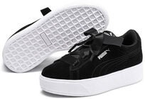 Puma Smash Vikky Platform Ribbon AC Tennarit, Black