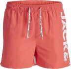 Jack & Jones Cali Uimahousut, Hot Coral