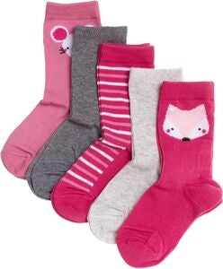 Pierre Robert Eco Basic Sukat 5-pack, Pink