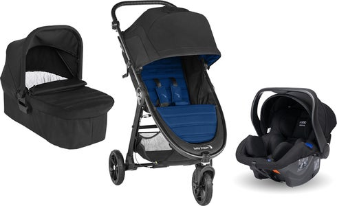 Baby Jogger City Mini GT 2 Lastenrattaat sisält. Turvakaukalo, Adapteri & Vaunukoppa, Windsor/Black