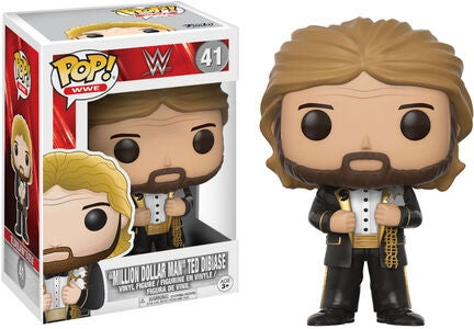 POP! WWE Keräilyhahmo Million Dollar Man Old School
