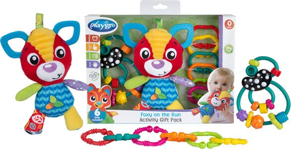 Playgro Foxy On The Run Lahjapakkaus