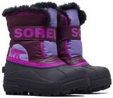 Sorel Children's Snow Commander Kengät, Paisley Purple