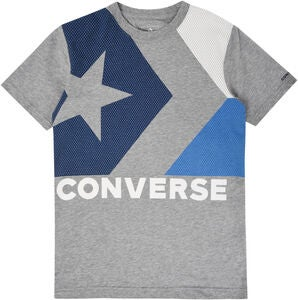 Converse Chevron T-Paita, Dark Grey Heather