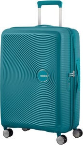 American Tourister Soundbox Spinner Matkalaukku 71.5L, Jade Green