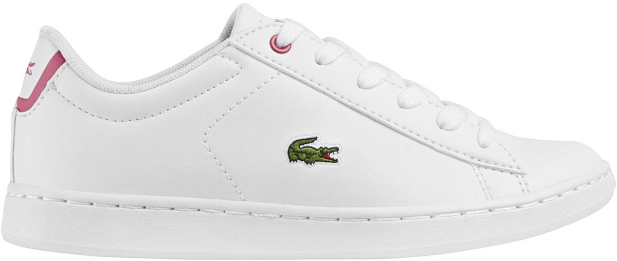 Lacoste Carnaby Evo Tennarit, White/Pink