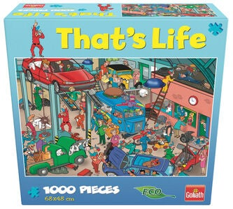 Goliath Games Palapeli That's Life - Garage 1000