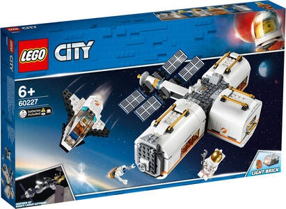 LEGO City 60227 Space Port Kuun Avaruusasema