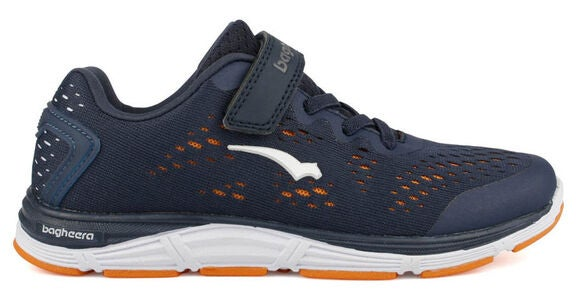 Bagheera Victory Jr Tennarit, Navy/Orange