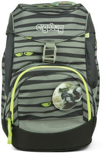 Ergobag Prime Reppu Super NinBear 20L, Green Eyes