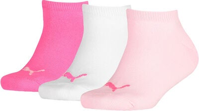 Puma Invisible 3-Pack Sukat, Pink Lady