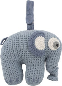 Sebra Fanto the Elephant Soittorasia, Powder Blue