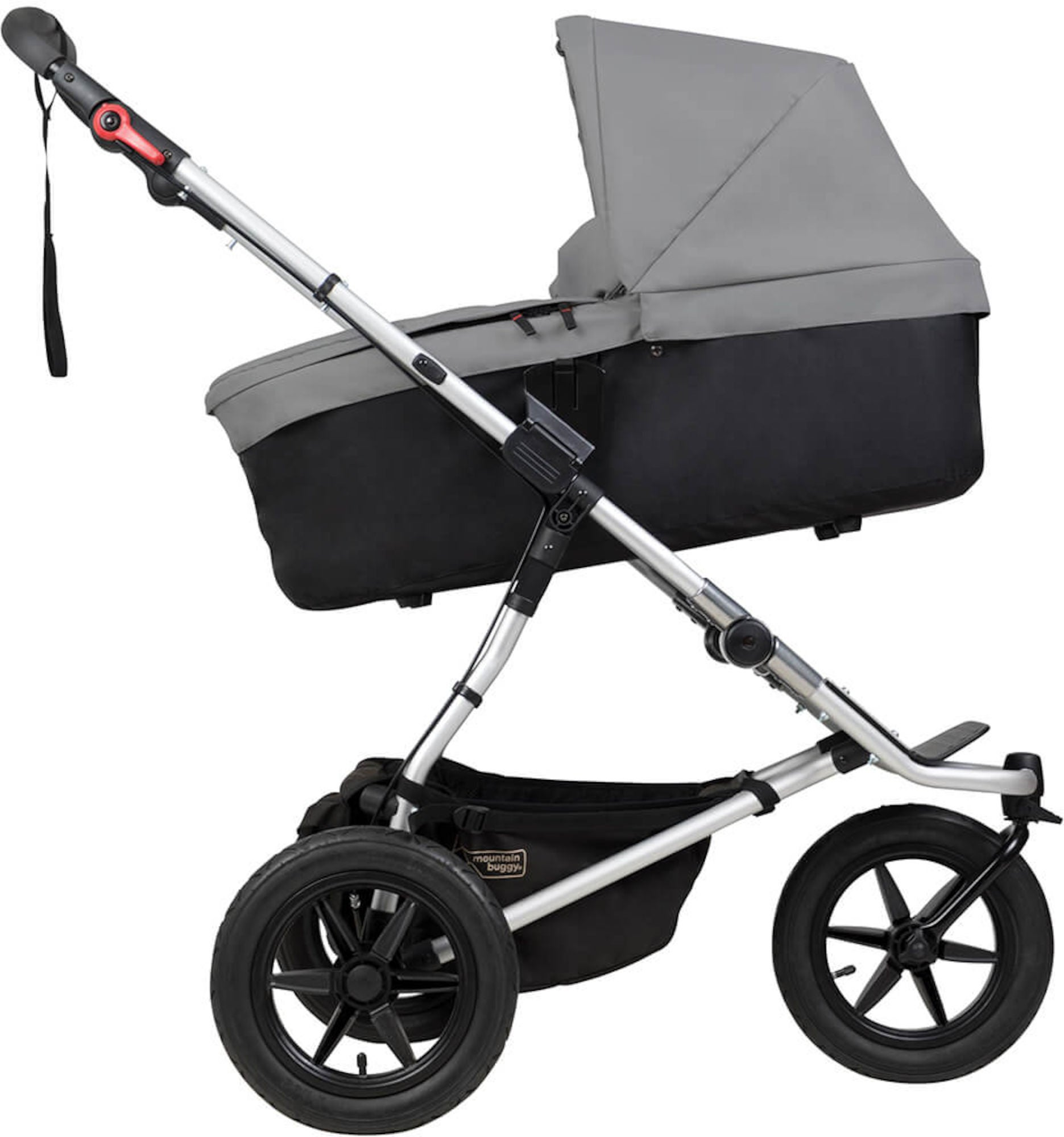 Mountain Buggy Plus Vaunukoppa, Silver